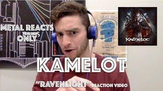 "KAMELOT ""Ravenlight"" Reaction Video | Metal Reacts Only | MetalSucks"