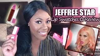 Jeffree Star Velour Liquid Lipstick Review + Lip Swatches