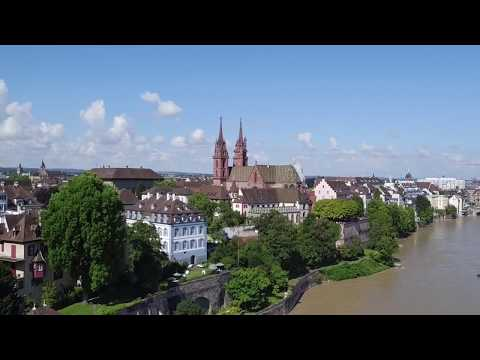 Test Flight | Roche Tower | Basel | with DJI INSPIRE X5 Drone