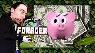 GIMME MONEY - Forager gameplay live stream