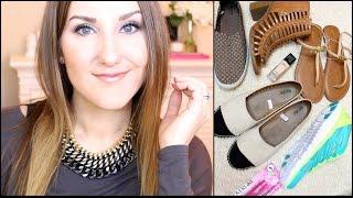 Target Haul! Spring Shoes & Makeup