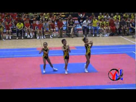 Aerobic   1  Ha Noi   Tu chon 3 nguoi Cap 1 1 3   HKPD KVII 2012