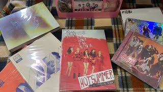 F(x) albums and Photocards collection (until September 2021)
