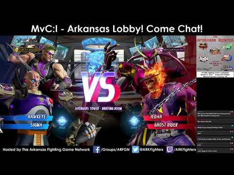 Arkansas Marvel vs. Capcom: Infinite Online Lobby (3/28/18)