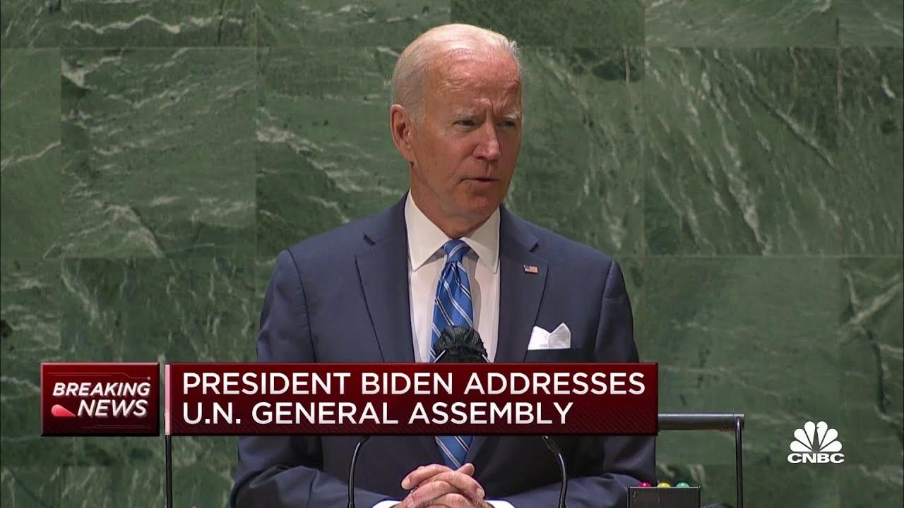 Download President Joe Biden: U.S. is entering a new era of diplomacy