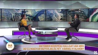 Október közepéig hallgathatják meg az új magyar biztos-jelöltet, Várhelyi Olivért