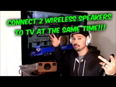 how-to-connect-wireless-speakers-and-headphones-to-tv,-easy-way