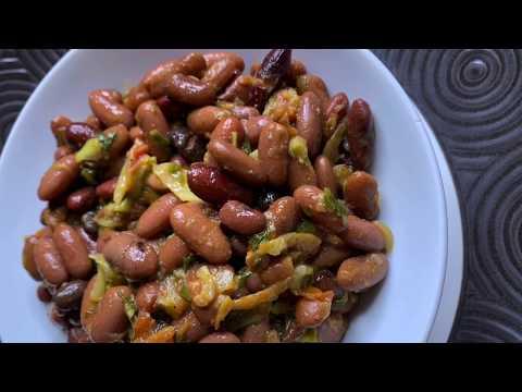 recette-africaine-des-haricots-rouges-sautés-|plat-végétarien,-rapide-et-délicieux-|-le-h-du-bhb