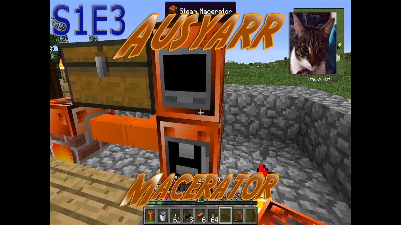 how to stop ores spitting out macerator