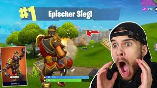 EPIC VICTORY with the NEW SKIN! (Fortnite Battle Royale English)
