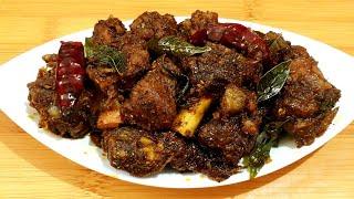 Chettinad Mutton Chukka Recipe in Tamil | Mutton chukka | Mutton dry Roast