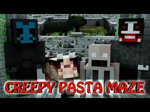 Minecraft | MAZE CHALLENGE SURVIVAL - Creepy Pasta Mod Challenge Part 14!