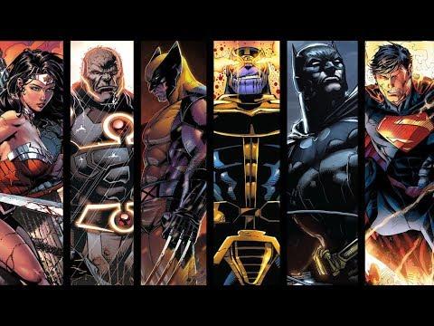 TOP 10 Most Epic Battles - DC vs Marvel: Clash of the TITANS