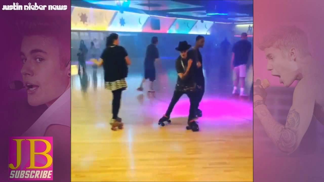 Roller skating los angeles - Justin Bieber Roller Skating In Glendale Los Angeles California 1 16 July 2014