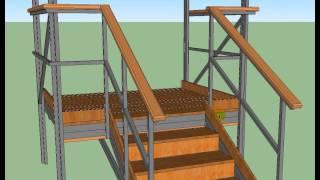 видео Крыльцо загородного дома: проекты и виды конструкций