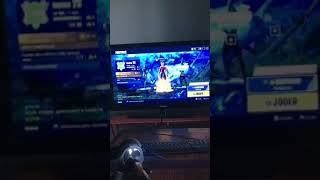Strange skin on fortnite