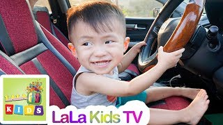 We are in the Car | Wheels On The Bus Song Nursery Rhymes & Kids Songs by LaLa Kids TV