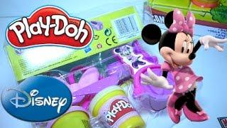 Play Doh Minnie Mouse Playset Disney Toys Игровой набор Дисней Игрушки Минни Маус Плей До