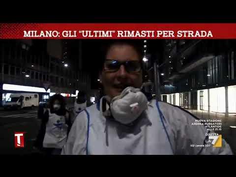 Coronavirus, a Milano gli 'ultimi' restano per strada