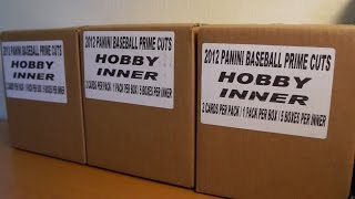 LOADED 2012 Panini PrimeCuts 15 box Case Break CUT MOJO!