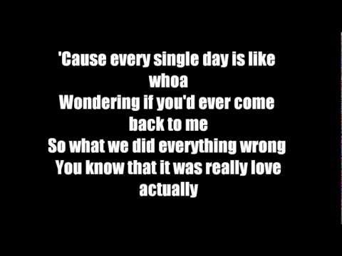Love Actually - Cady Groves lyrics