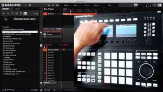Maschine 2.0 Recording Filter Sweep Automation with Maschine Studio