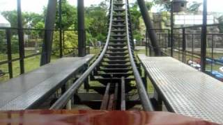 Roller Coaster ride at Enchanted Kingdom, Santa Rosa, Laguna, Philippines