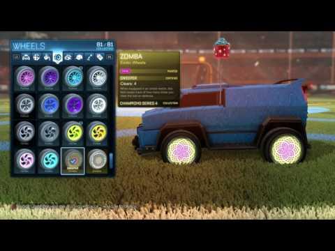 Rocket League® Pink Zombas Sweeper cert