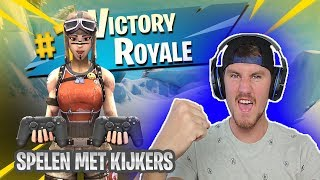 LIVE PLAYING WITH VIEWERS//USE CODE: PAT-EN//FORTNITE//Nederlands/NL