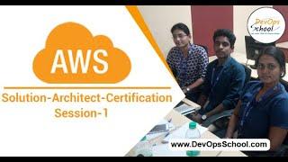 AWS Solution Architect Certification Tutorials EC2 (Session-1) — By DevOpsSchool