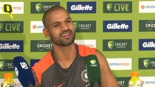 Missed Chances in the Field Cost us Dearly: Dhawan | The Quint