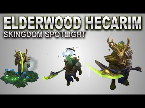 Elderwood Hecarim Skin Spotlight | SKingdom - League of Legends