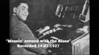 """FATS"" WALLER - ""Messin' about with the Blues"" - Trinity Church Studio Pipe Organ - 1927"