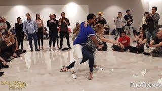 Ronald y Alba [Solamente Tu] Bailando Milano Congress 2018