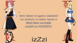 [ KARAOKE ] Fairy Tail ED4 - Kimi ga Iru Kara ( instrumental + lyrics )