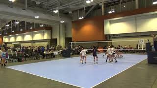 Encore 18 DENISE vs TX Tornados 18-2 (2019 Music City Volleyball Championships)