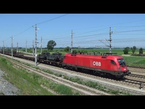 Vlaky  ÖBB, DB, CargoServ, Roland, European Locomotive Leasing, MOL,Maersk,Hapag Lloyd.