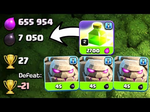DOES THIS ACTUALLY WORK!? - Clash Of Clans - TRIPLE GOLEM STRAT!