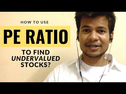How to use PE ratio to find undervalued Indian stocks? (Basi