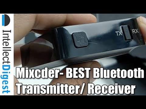 Mixcder- Bluetooth Transmitter And Receiver Combo- The Best So Far!