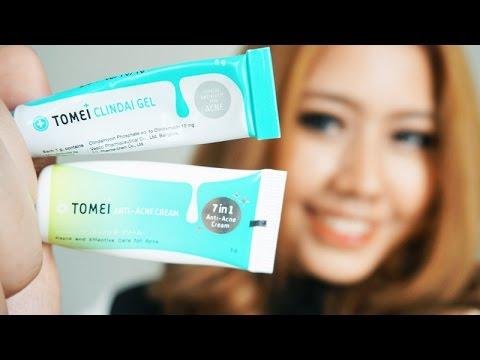 Review : TOMEI Clindai Gel & TOMEI Anti Acne Cream รักษาดูแลสิว ไม่แสบคันและไม่ระคายเคือง   Bucciime