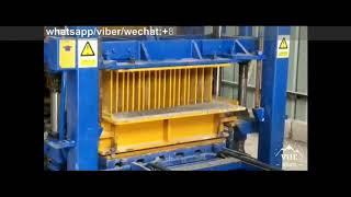 machine for small business QT4 15 hydraulic press paving brick making machine  in Jordan