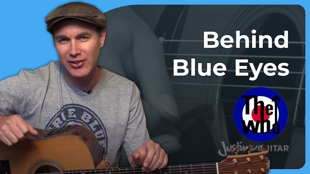 How To Play Behind Blue Eyes By The Who Guitar Lesson Sb 321 Youtube