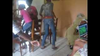 Big teenagers playing musical chairs!!!