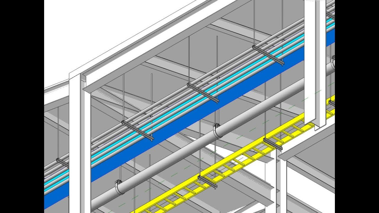 Revit 2018 Using Hangers For Ducts Pipes Cable Trays