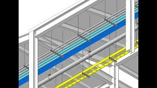 Revit 2018: Using Hangers for Ducts, Pipes, Cable Trays and Conduits, with Fabrication Parts