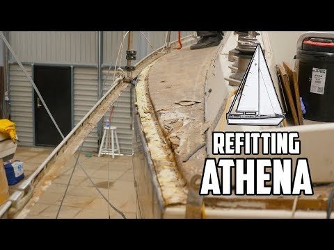Sail Life - Hatch frame, toe rail and the dang joint (deck-cabin top) - DIY sailboat refit