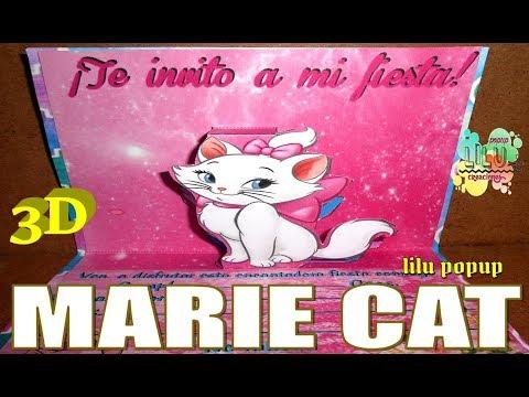 Como Hacer Una Invitación De Marie Invitacion 3d Youtube