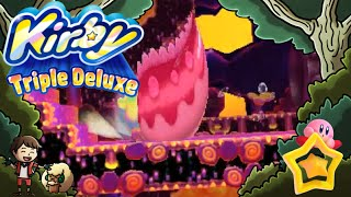 Kirby Triple Deluxe! Playing with my Daughter! Part 24 | Eel Sushi