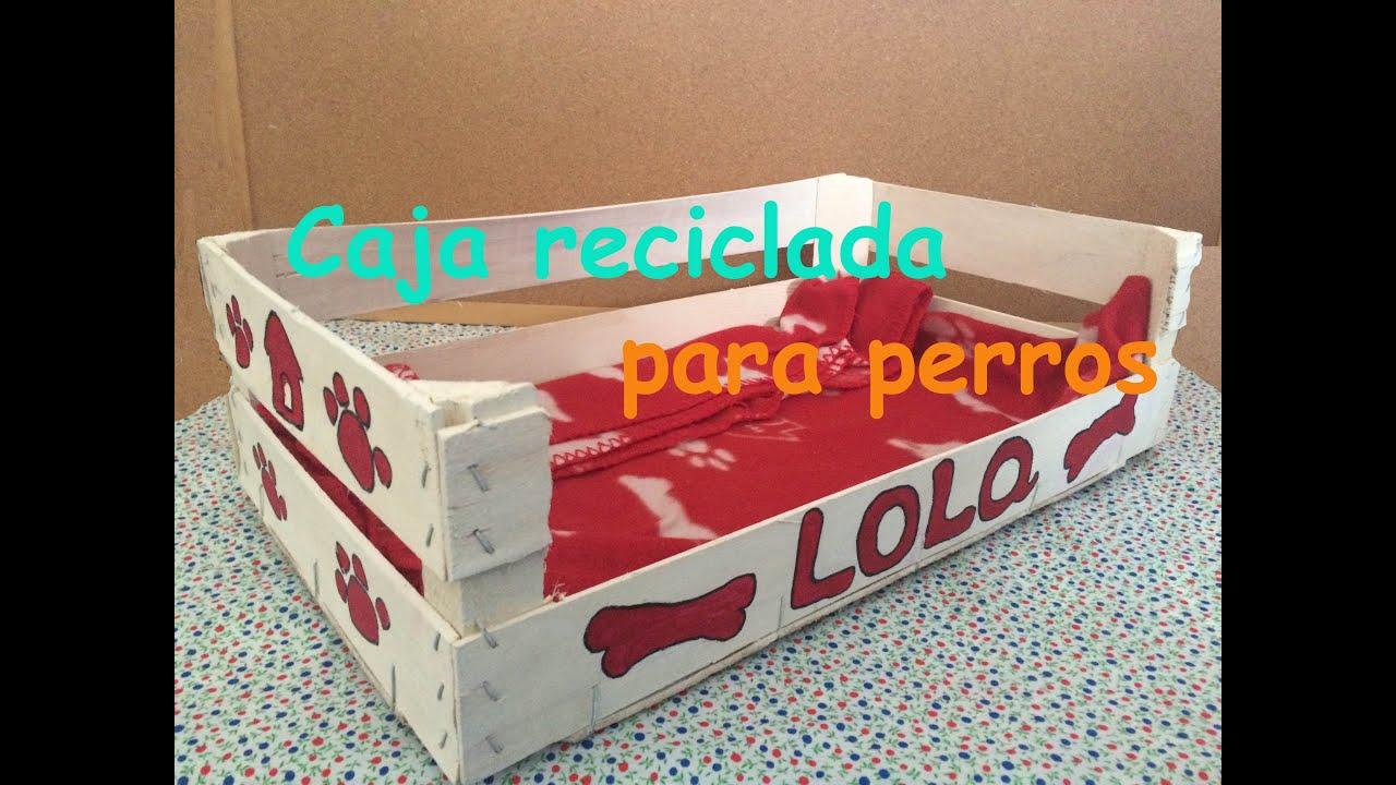 Decoraci n de caja para perros reciclada youtube for Decoracion de cajas